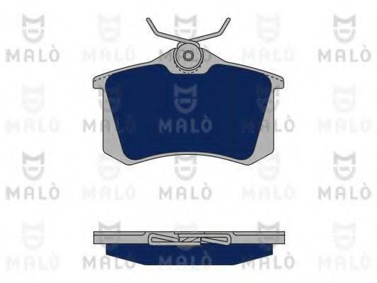 MALO 1050109 Комплект тормозных колодок, дисковый тормоз
