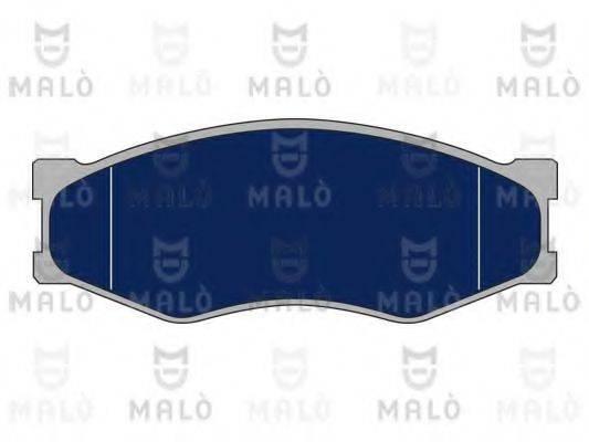 MALO 1050151 Комплект тормозных колодок, дисковый тормоз