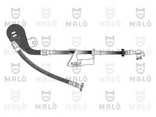 MALO 80952 Тормозной шланг