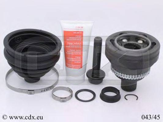 CDX 04345 Шарнирный комплект, приводной вал