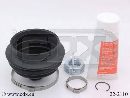 CDX 222110 Комплект пылника, приводной вал