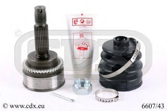 CDX 660743 Шарнирный комплект, приводной вал