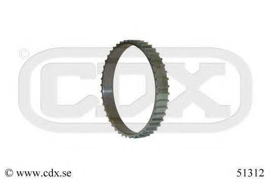 CDX 51312 Зубчатый диск импульсного датчика, противобл. устр.