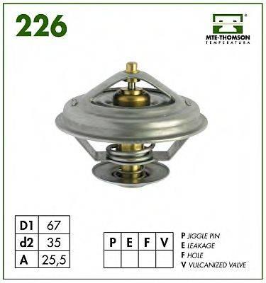 MTE-THOMSON 22687 Термостат, охлаждающая жидкость