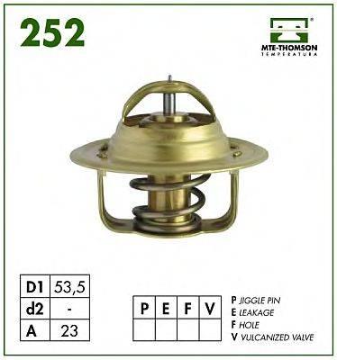MTE-THOMSON 25282 Термостат, охлаждающая жидкость