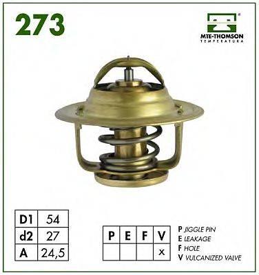 MTE-THOMSON 27379 Термостат, охлаждающая жидкость