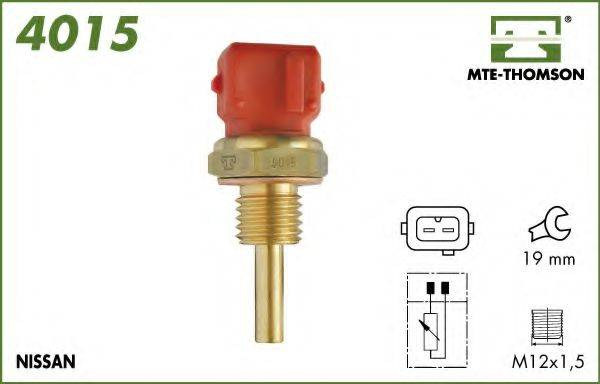 MTE-THOMSON 4015 Датчик, температура охлаждающей жидкости