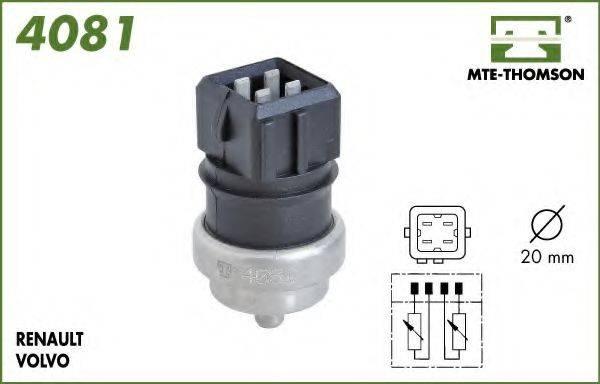 MTE-THOMSON 4081 Датчик, температура охлаждающей жидкости