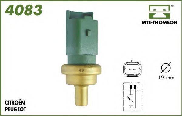 MTE-THOMSON 4083 Датчик, температура охлаждающей жидкости