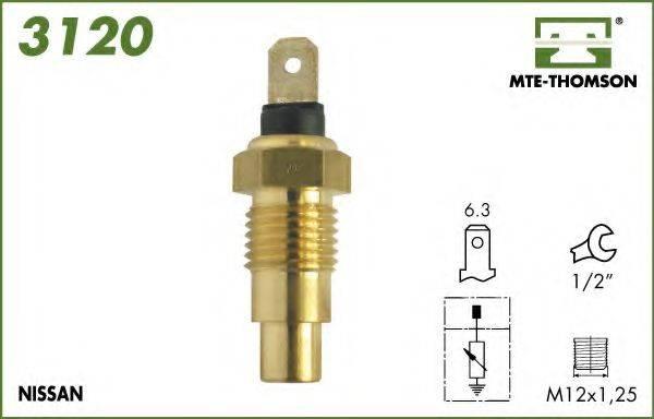 MTE-THOMSON 3120 Датчик, температура охлаждающей жидкости
