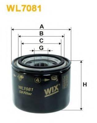 WIX FILTERS WL7081 Масляный фильтр
