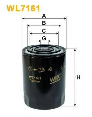 WIX FILTERS WL7161 Масляный фильтр