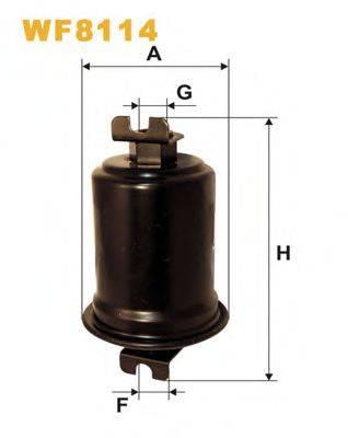 WIX FILTERS WF8114 Топливный фильтр