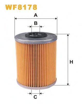 WIX FILTERS WF8178 Топливный фильтр