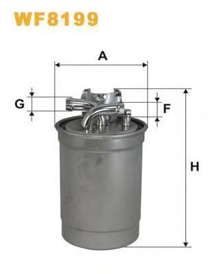 WIX FILTERS WF8199 Топливный фильтр