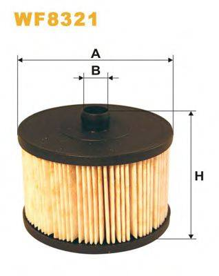 WIX FILTERS WF8321 Топливный фильтр