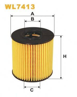 WIX FILTERS WL7413 Масляный фильтр