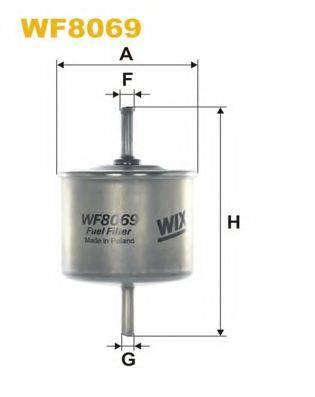 WIX FILTERS WF8056 Топливный фильтр