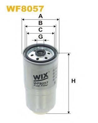 WIX FILTERS WF8057 Топливный фильтр