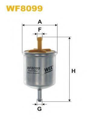 WIX FILTERS WF8099 Топливный фильтр