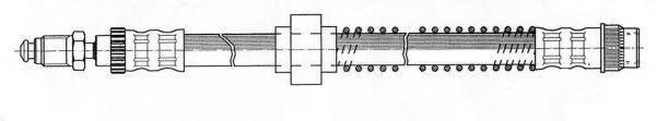 CEF 510852 Тормозной шланг