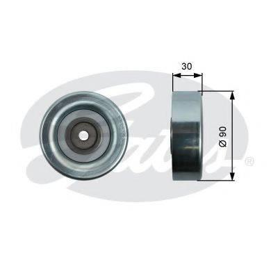 GATES T36415 Паразитный / ведущий ролик, поликлиновой ремень