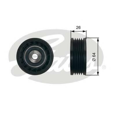 GATES T39234 Натяжной ролик, поликлиновой  ремень