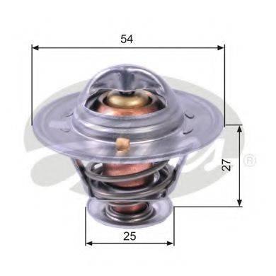 GATES TH22779G1 Термостат, охлаждающая жидкость