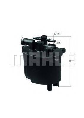 KNECHT KL581 Топливный фильтр