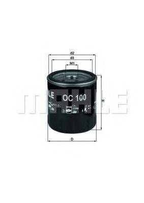 KNECHT OC100 Масляный фильтр