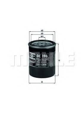 KNECHT OC196 Масляный фильтр