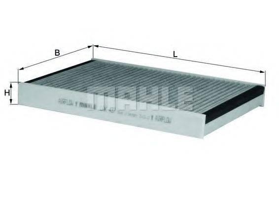 KNECHT LAK437 Фильтр, воздух во внутренном пространстве