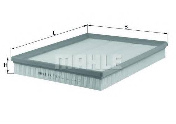 KNECHT LX8761 Воздушный фильтр