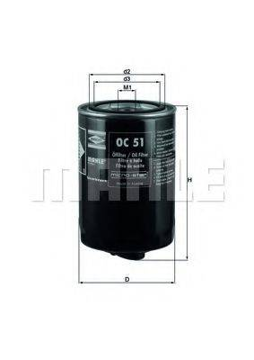 KNECHT OC51 Масляный фильтр