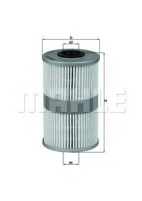 KNECHT KX204D Топливный фильтр
