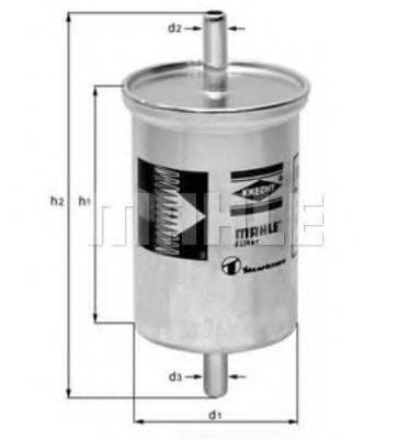 KNECHT KL2 Топливный фильтр