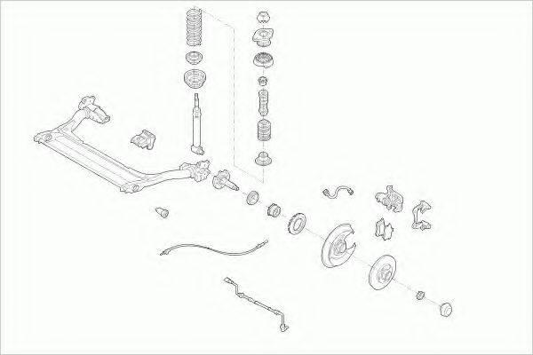 LEMFORDER AUDIA4RL004 Рулевое управление; Подвеска колеса