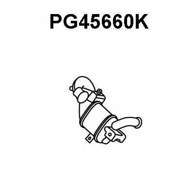 VENEPORTE PG45660K Предварительный катализатор