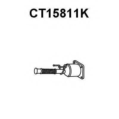 VENEPORTE CT15811K Катализатор