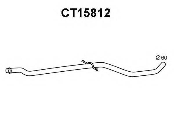 VENEPORTE CT15812 Труба выхлопного газа