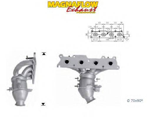 MAGNAFLOW 60911 Катализатор