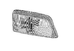 VAN WEZEL 4045977V Рассеиватель, основная фара