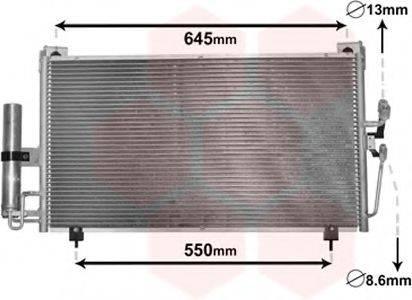 VAN WEZEL 32005213 Конденсатор, кондиционер