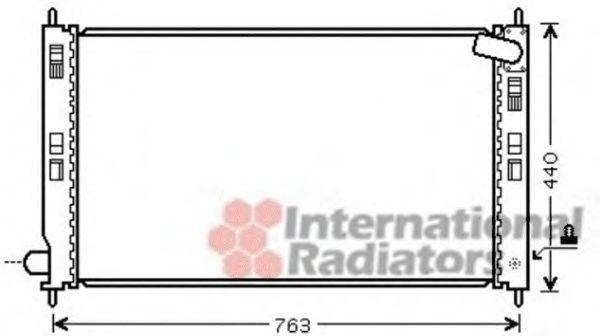 VAN WEZEL 32002207 Радиатор, охлаждение двигателя