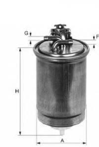 UNIFLUX FILTERS XN59 Топливный фильтр