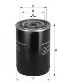 UNIFLUX FILTERS XO410 Масляный фильтр