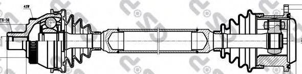 GSP 261019 Приводной вал
