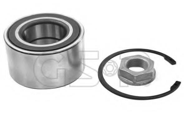 GSP GK3683 Комплект подшипника ступицы колеса
