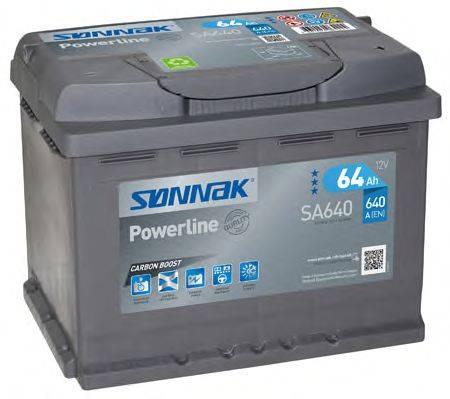 SONNAK SA640 Стартерная аккумуляторная батарея; Стартерная аккумуляторная батарея