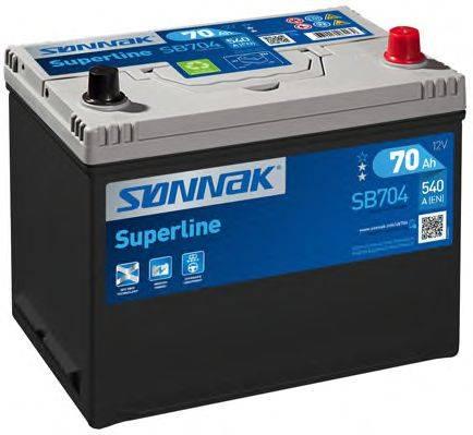 SONNAK SB704 Стартерная аккумуляторная батарея; Стартерная аккумуляторная батарея